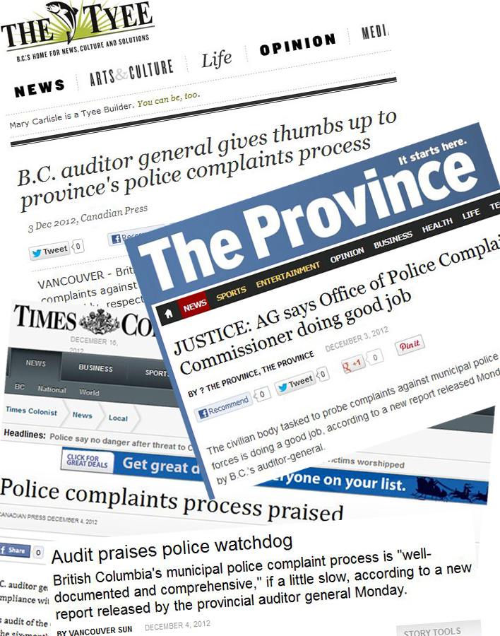 BC media publish positive, one-sided coverage of police accountability